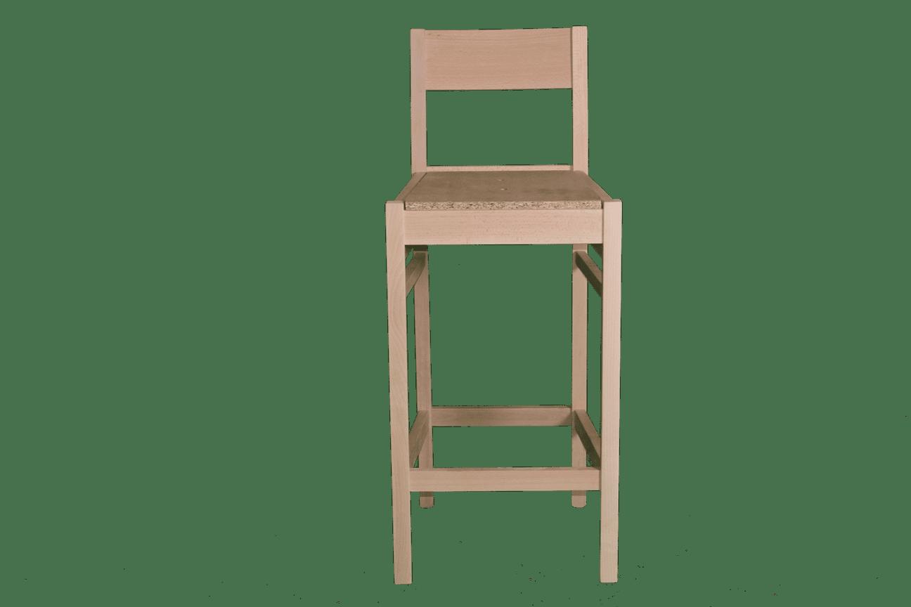 Coco Bar Stool Rfu Seat Amp Back Raw