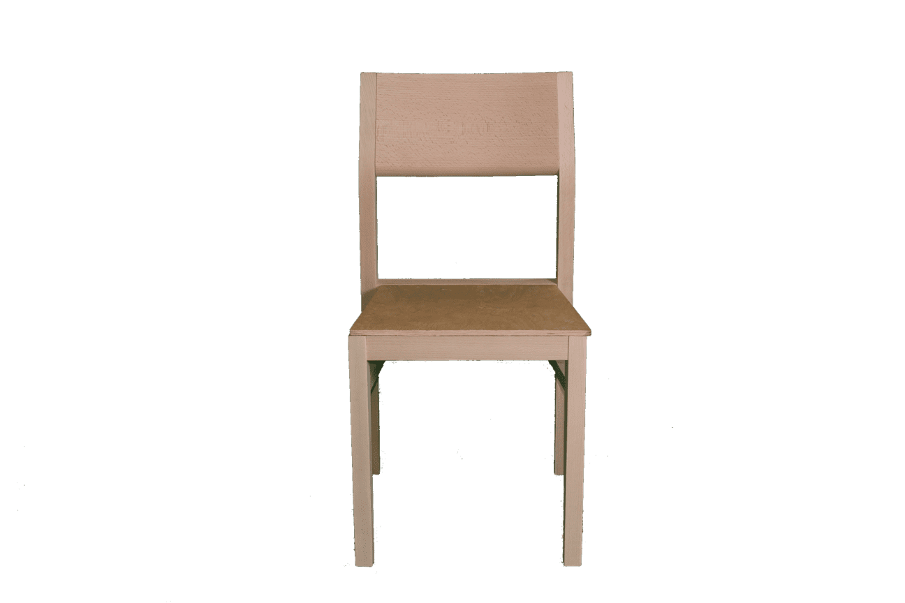 Armacord Stacking Side Chair Rfu Seat Raw Stacking