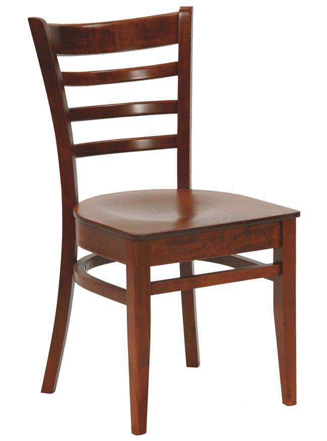 Dallas side chair veneer seat