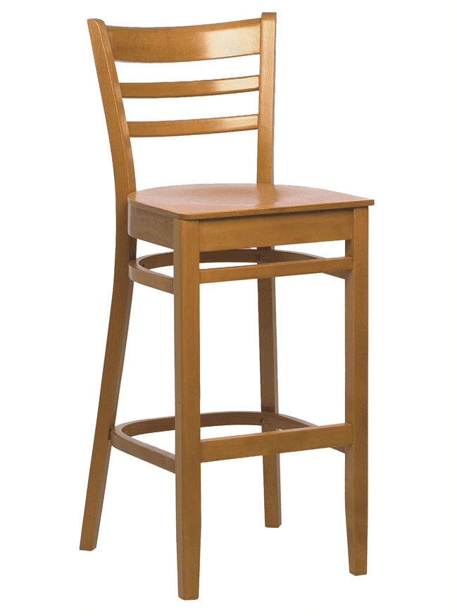 Dallas bar stool veneer seat