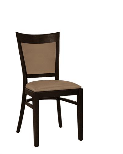 Ripon stacking side chair RFU seat & back raw