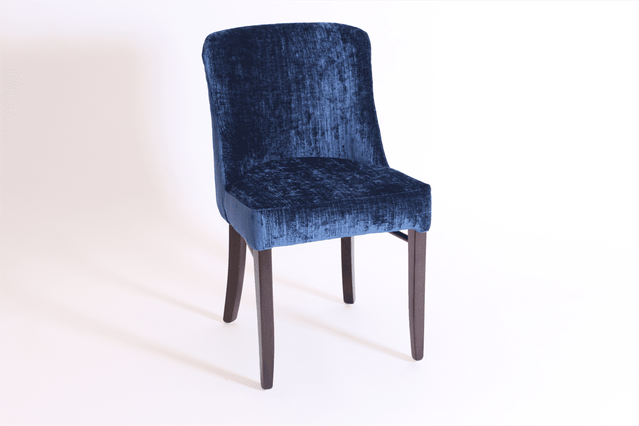Horatio side chair RFU seat & back raw
