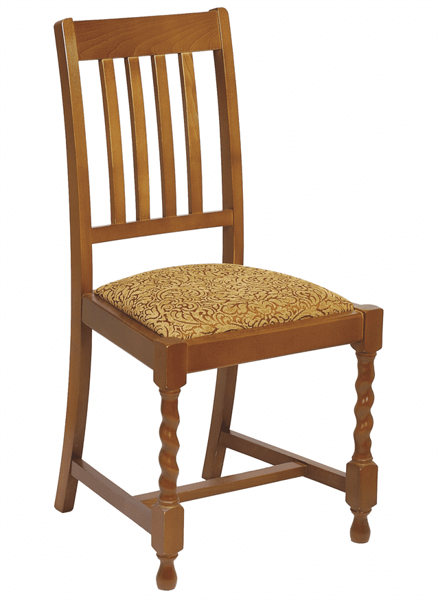 Dalham side chair RFU seat raw