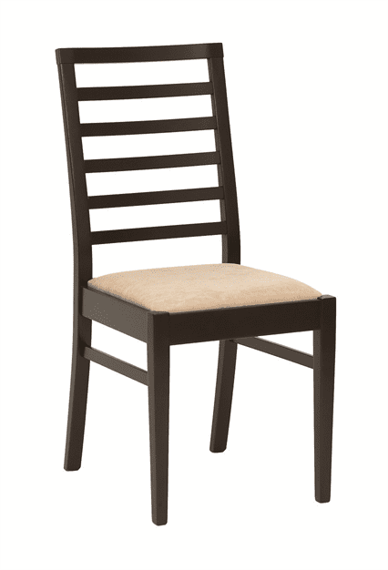 Anna side chair RFU seat & back raw