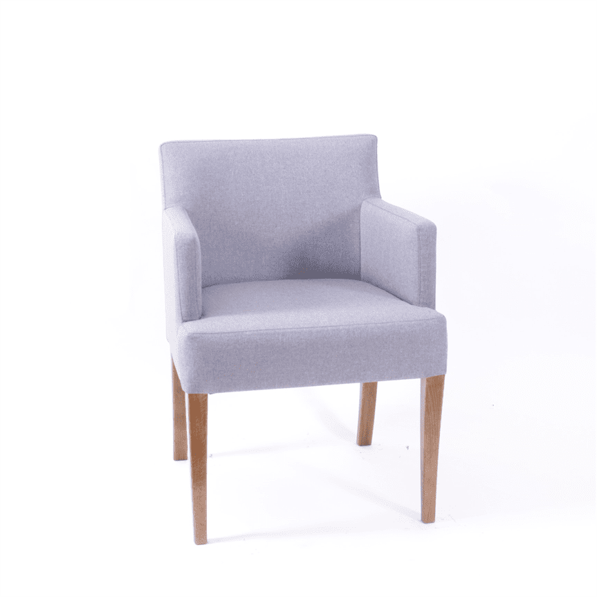Jane armchair RFU seat & back raw