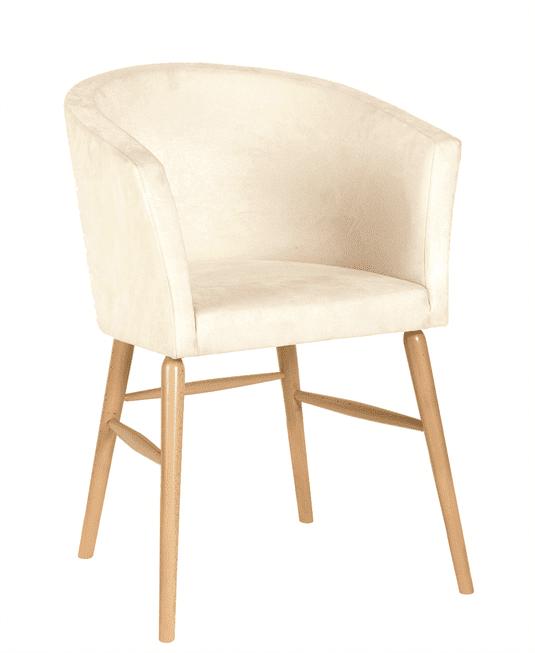 Freya tub chair RFU seat & back raw