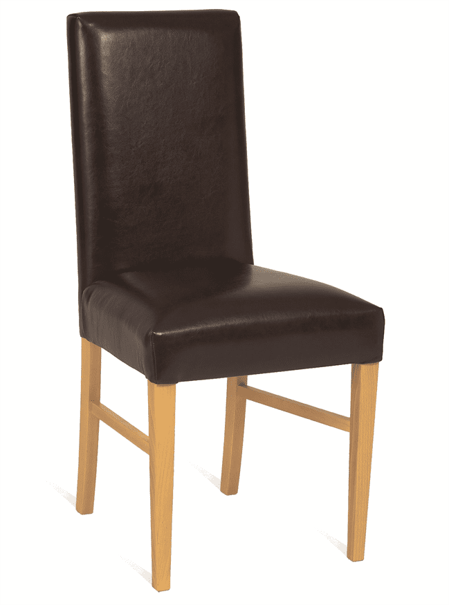 Hannah side chair RFU seat and back raw