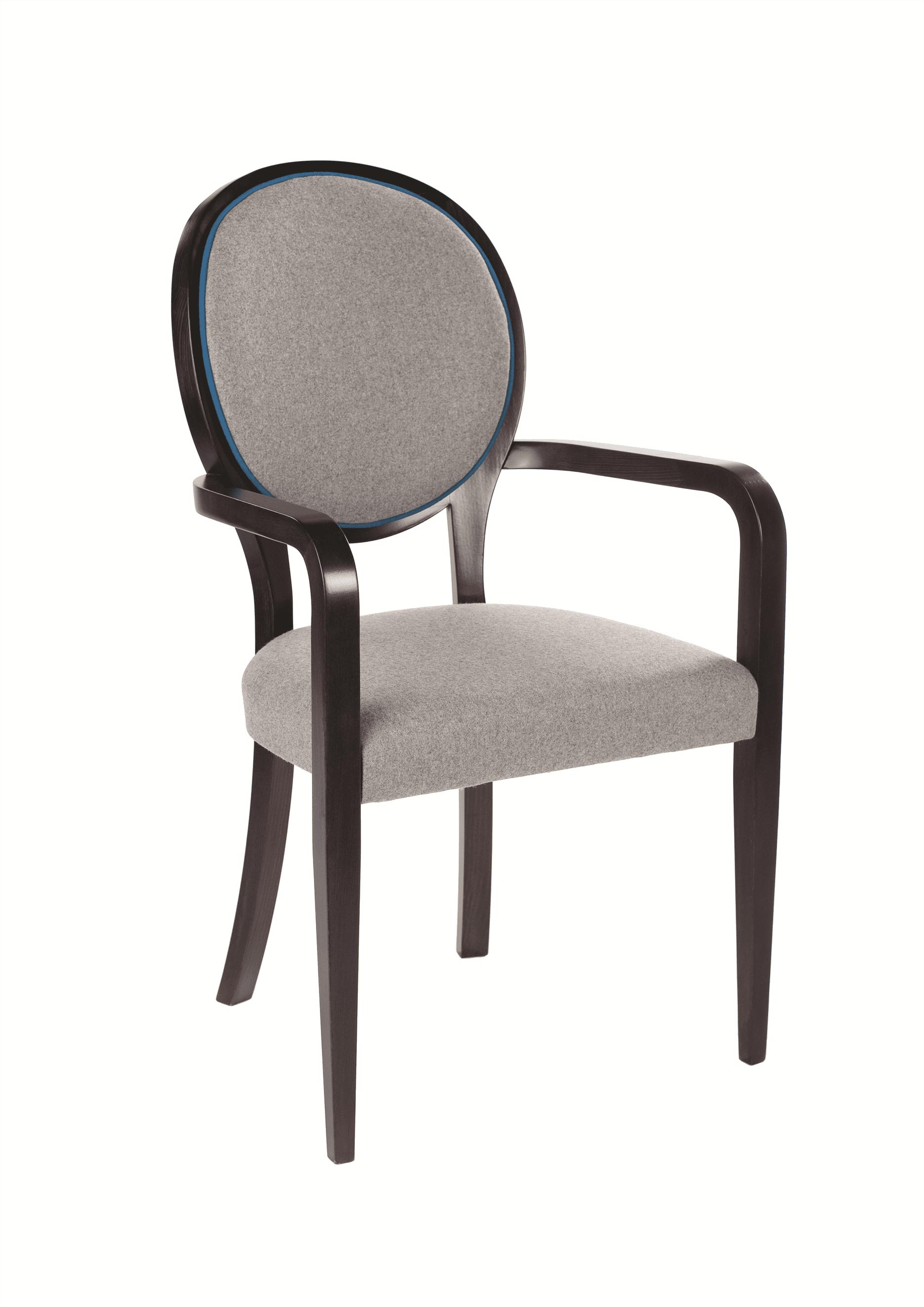 Elizabeth armchair RFU seat and back raw