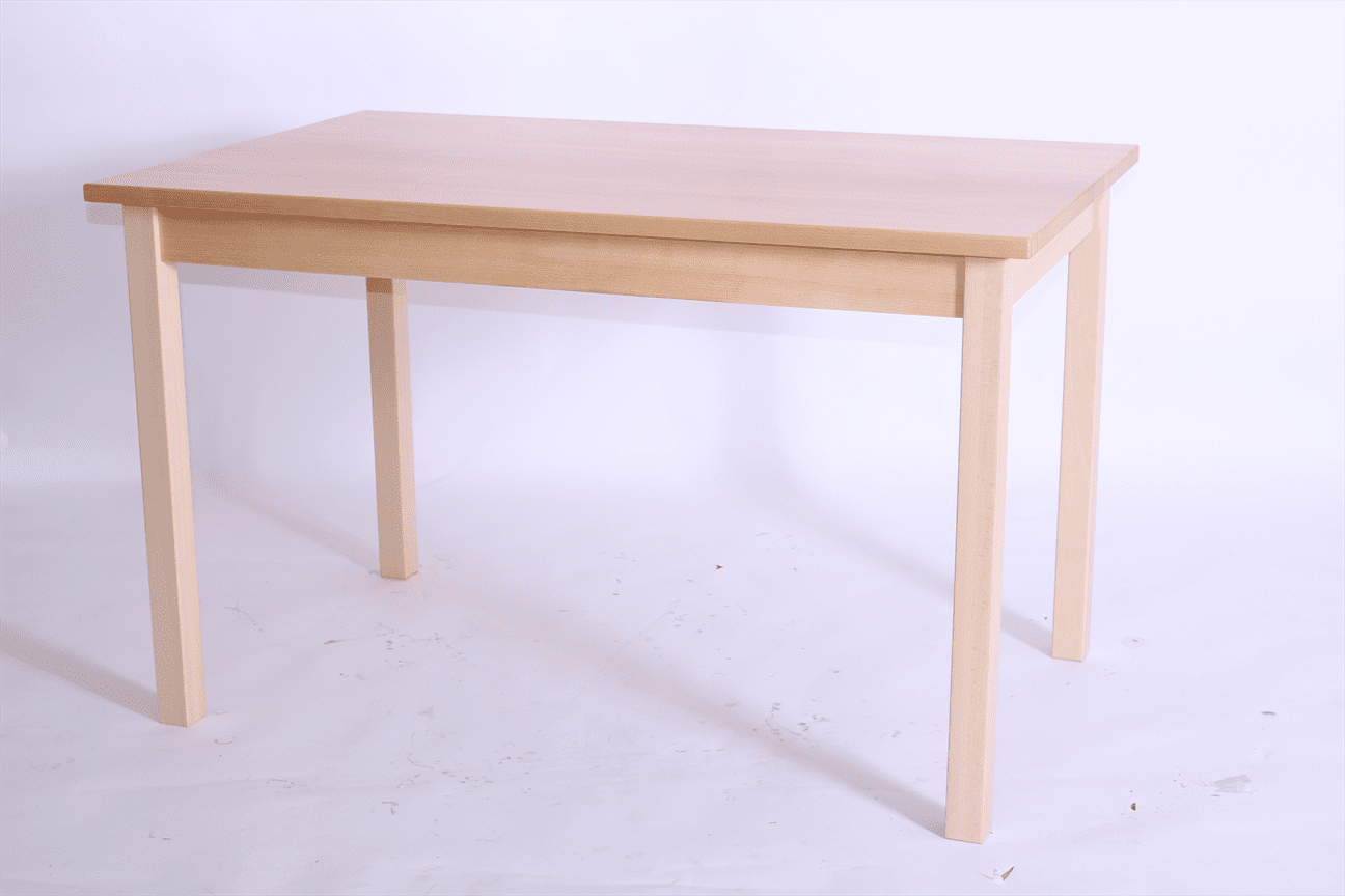 PRIMA RECT DINING TABLE SOLID BEECH