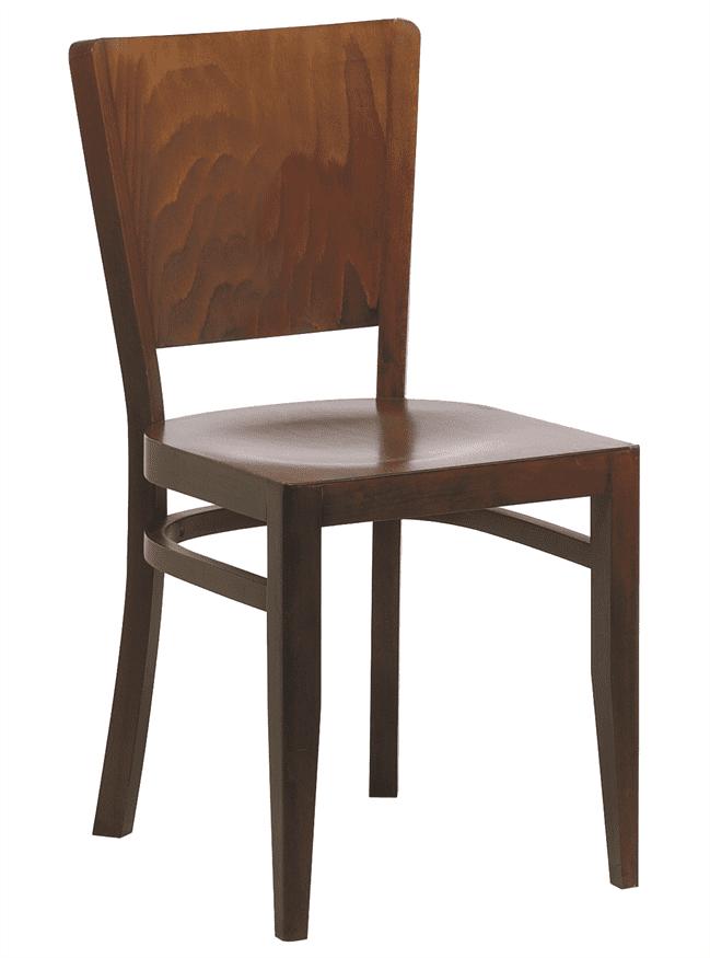 Oregon side chair veneer seat and back
