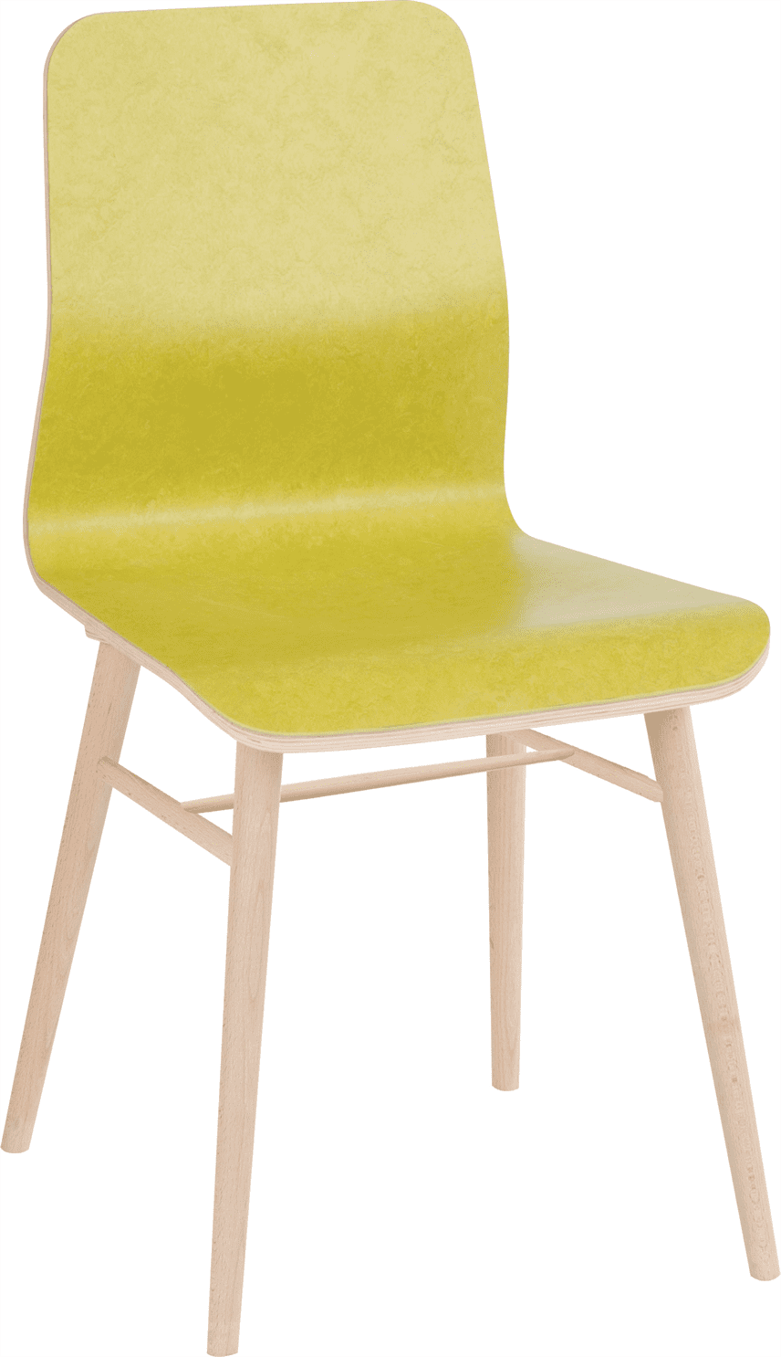 Lexi side chair veneer shell raw