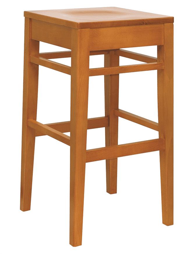 Clarke high stool frame only raw