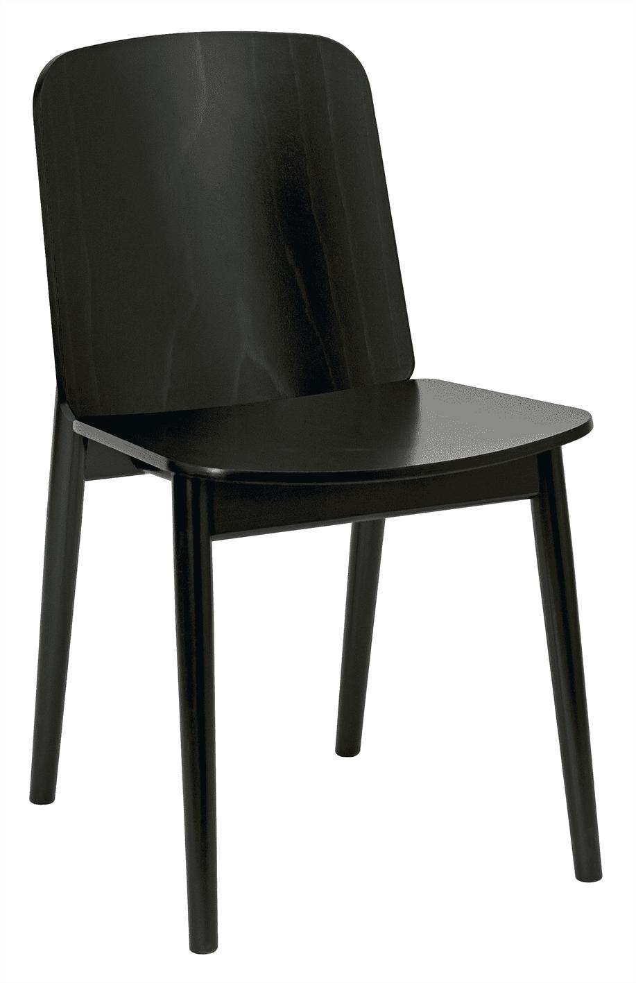 Pinner side chair veneer seat & back raw