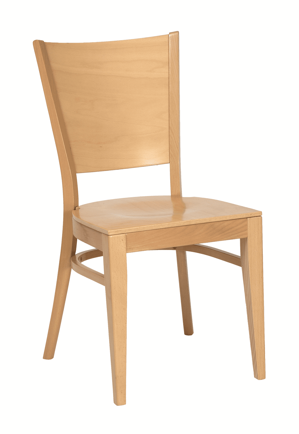Richmond stacking side chair veneer seat & back raw