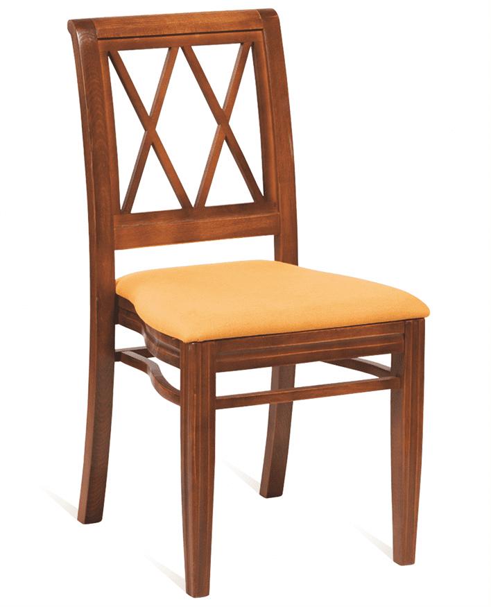 Washington diamond stacking side chair RFU seat raw