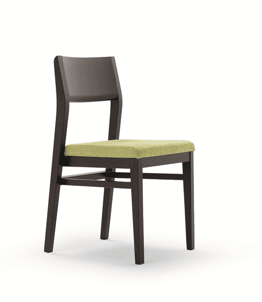 Armacord stacking side chair RFU seat raw