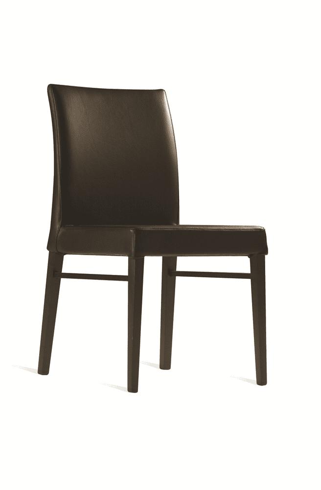 Bloom side chair RFU seat & back raw