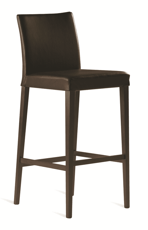 Bloom bar stool RFU seat & back raw