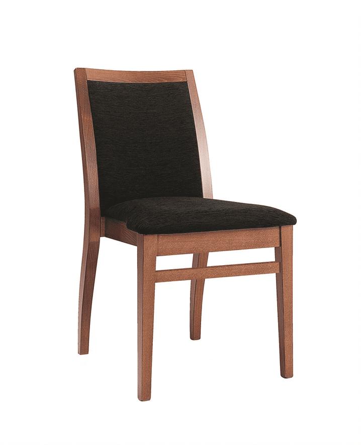 Frida stacking side chair RFU seat & back raw