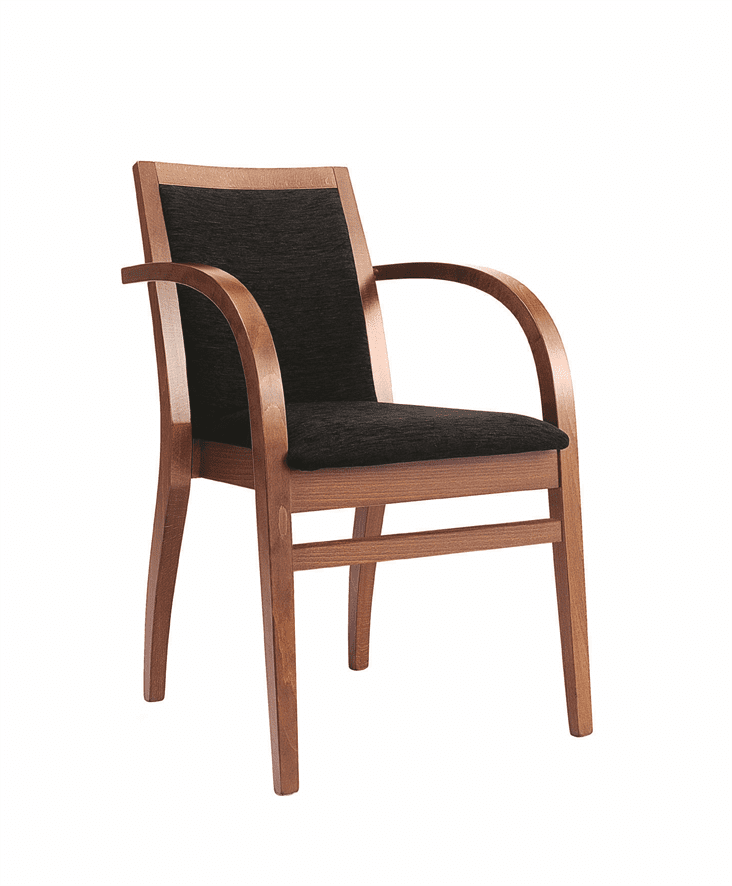 Frida stacking armchair RFU seat & back raw