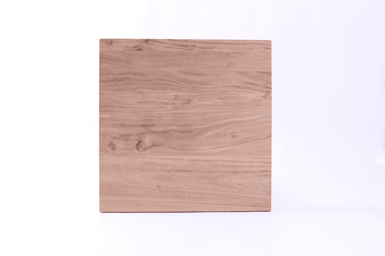 38MM SOLID ACACIA TOP 700mm SQ