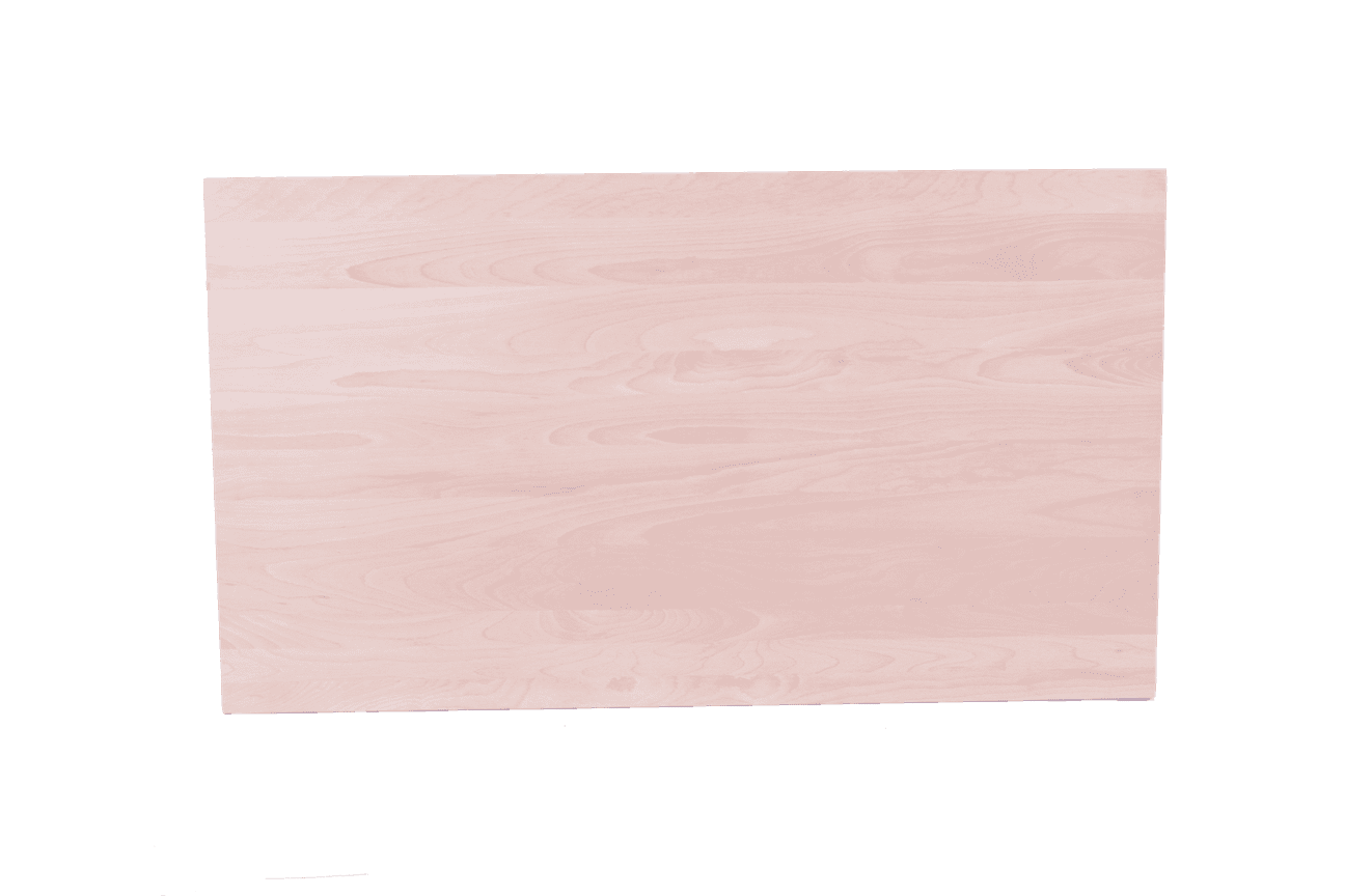 BEECH TOP SOLID WOOD 1220X760mm RECT