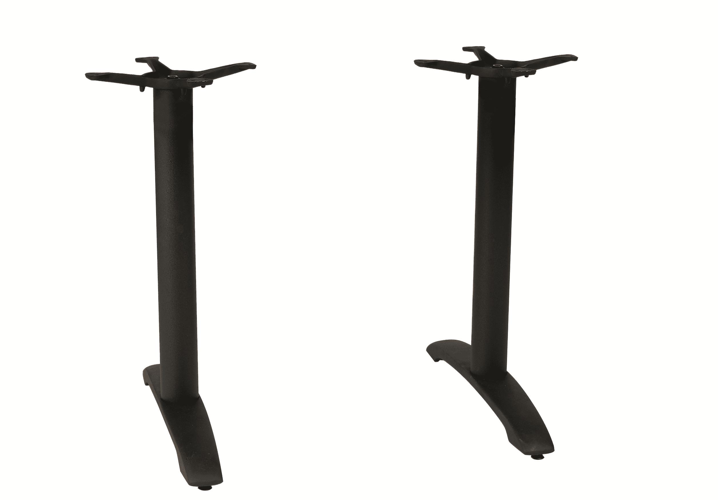 CENTAUR DOUBLE 2 LEG BLACK DINING