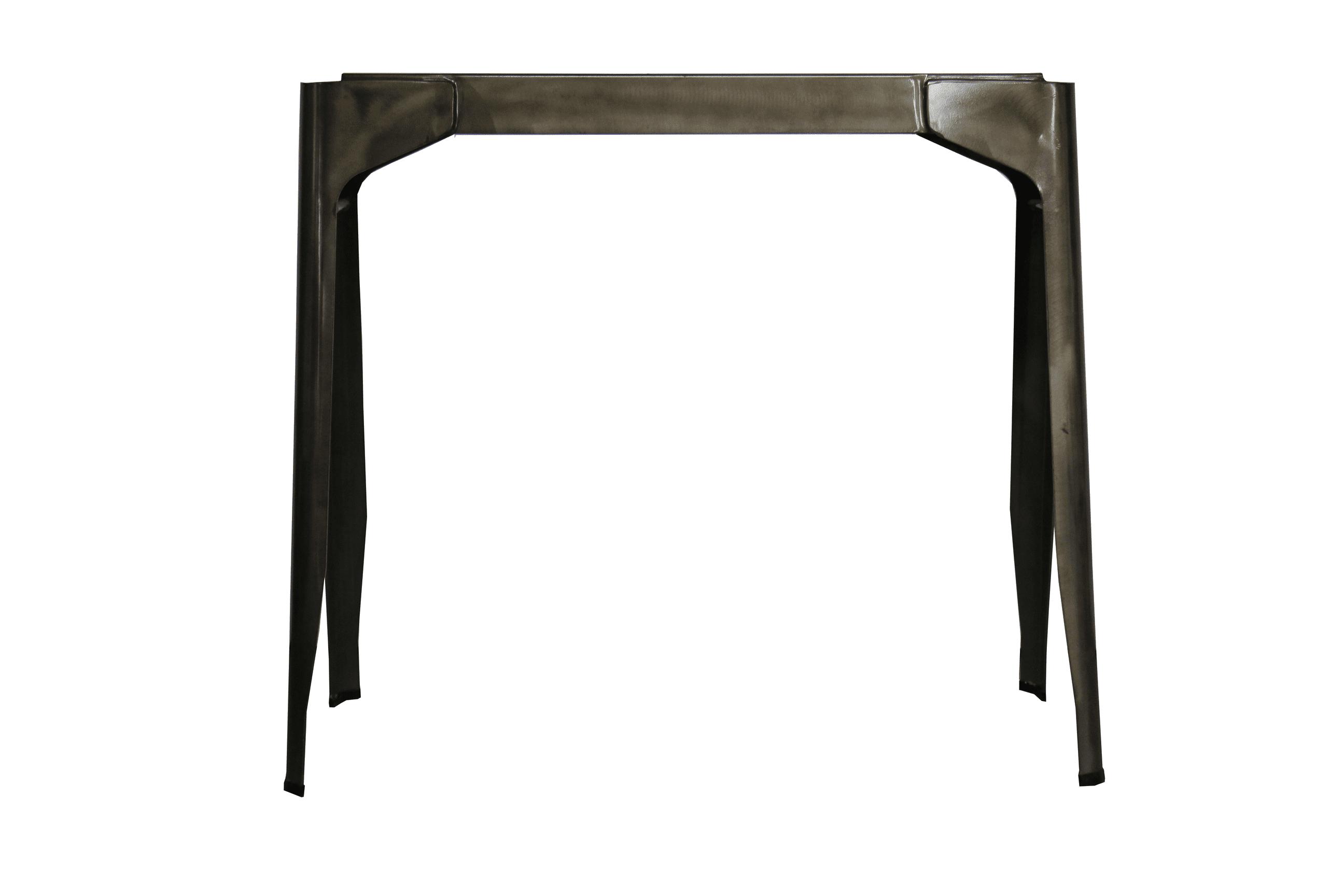 RELISH TRESTLE DBLE TABLE BASE STEEL