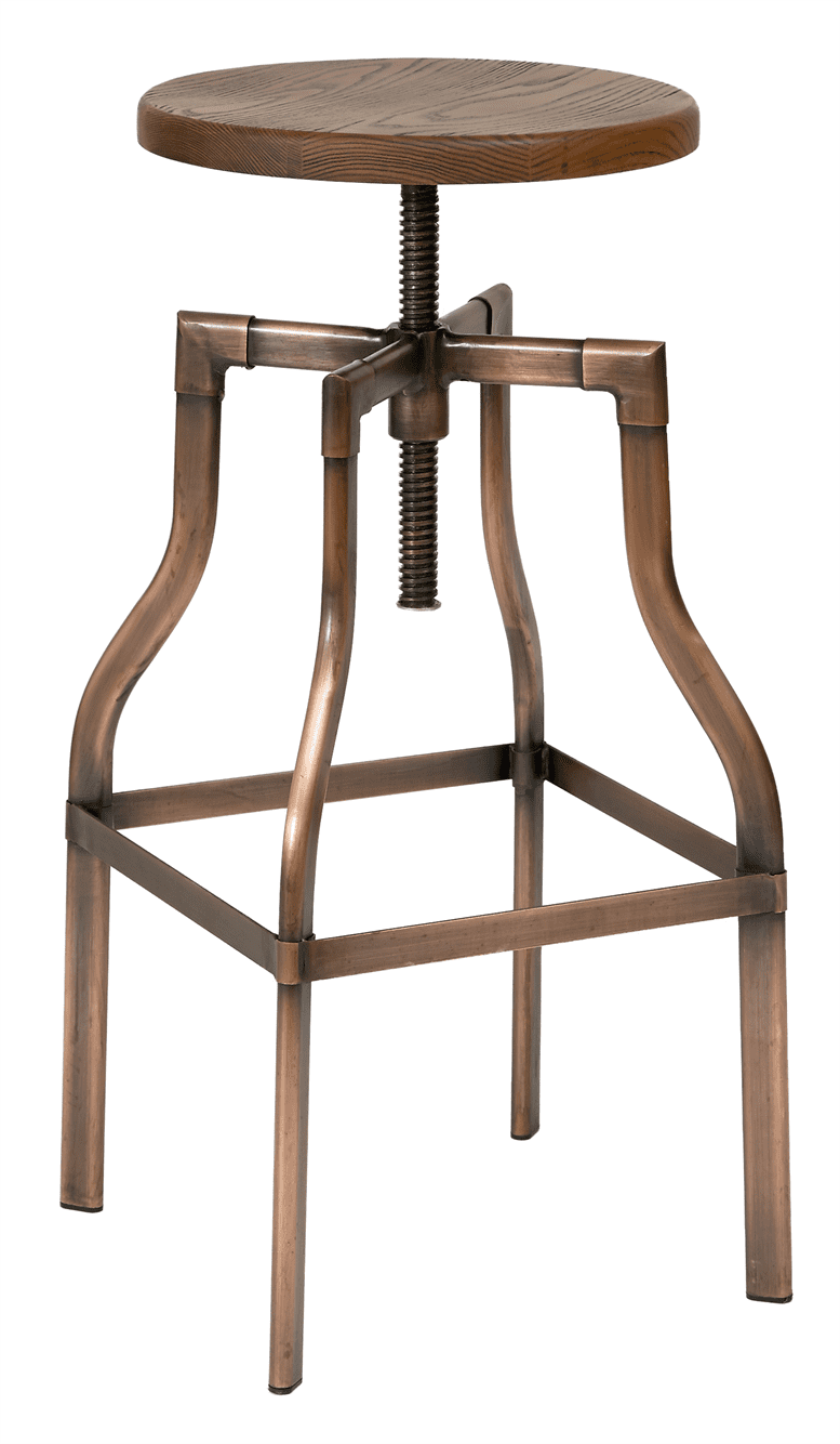 Factory high stool antique