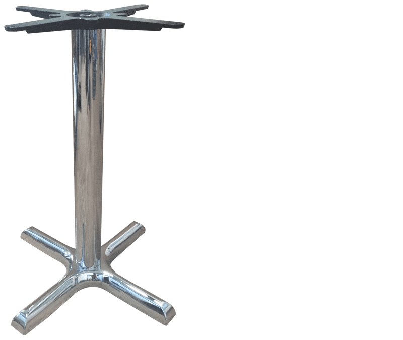 CROSS SMALL 4 LEG DINING POLISHED