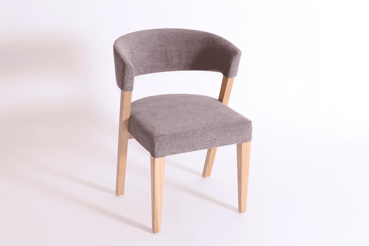 Manhattan side chair RFU seat & back raw