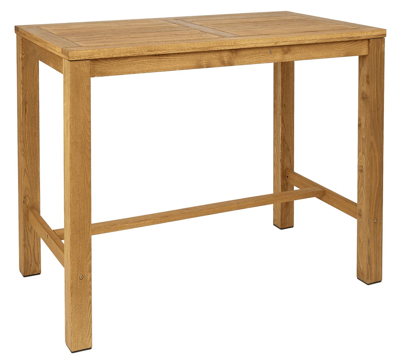 Quad rectangular bar table 1400 x 800mm