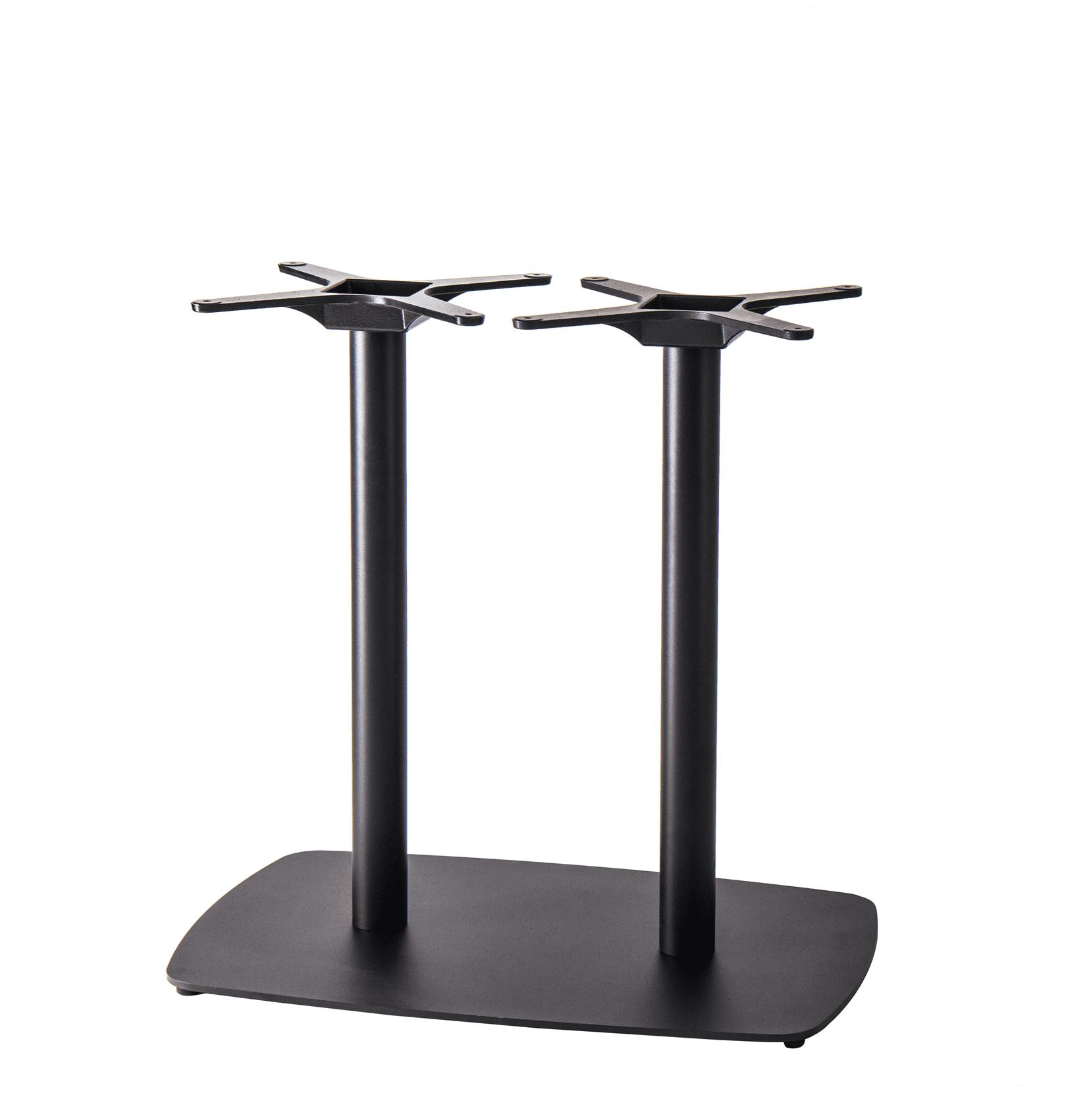 Tarot twin table base black dining height