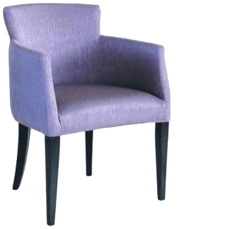 Horatio armchair RFU seat & back raw