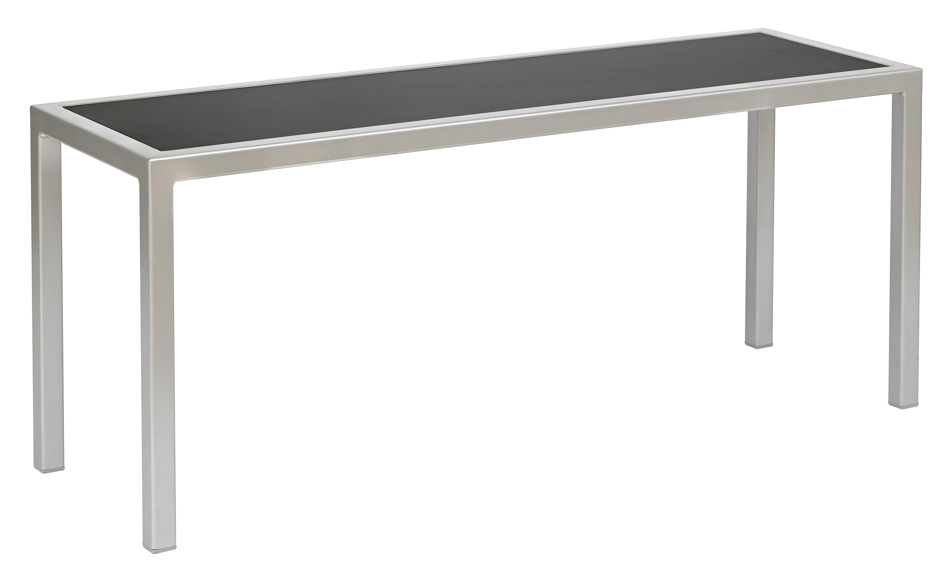 BREW HPL BENCH BLACK/SILVER