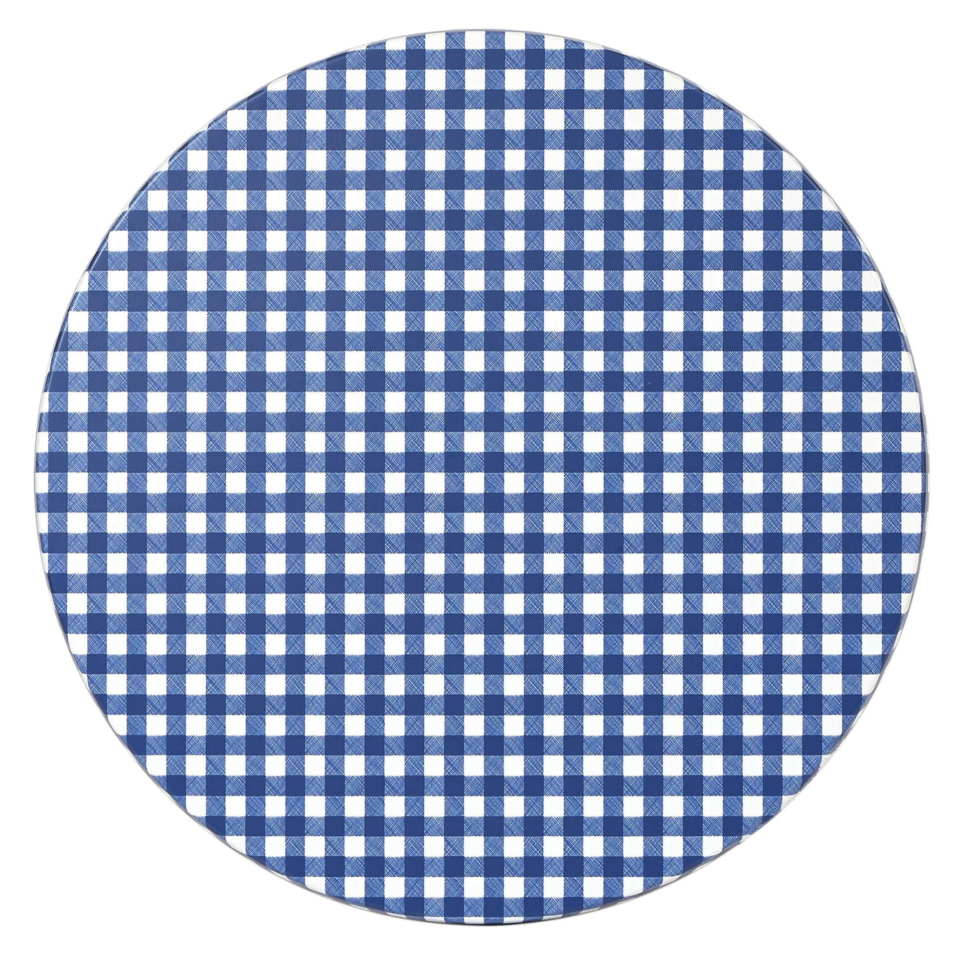 GINGHAM AW 700 MM ROUND TOP