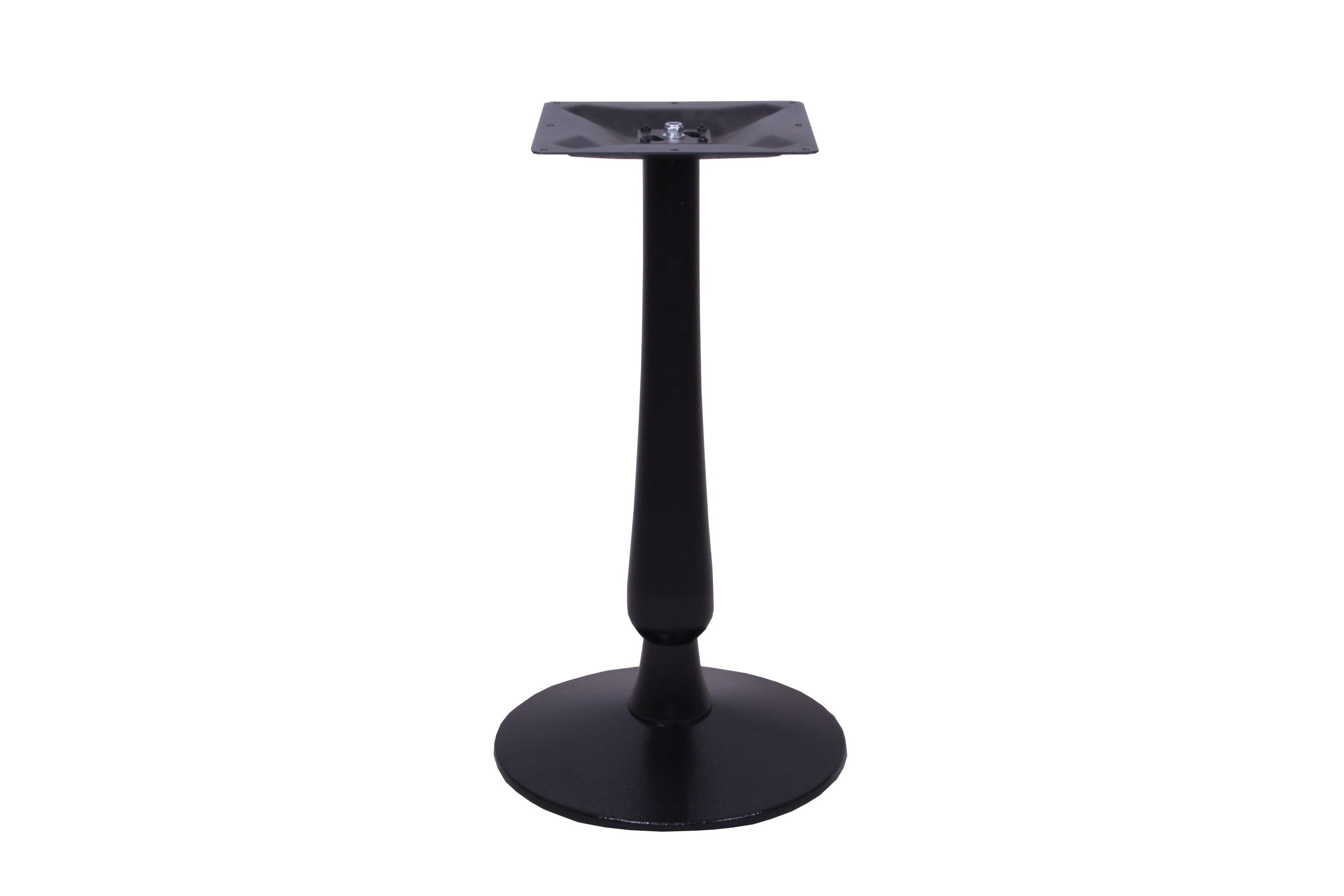 HEBE SMALL ROUND BASE BLACK DINING