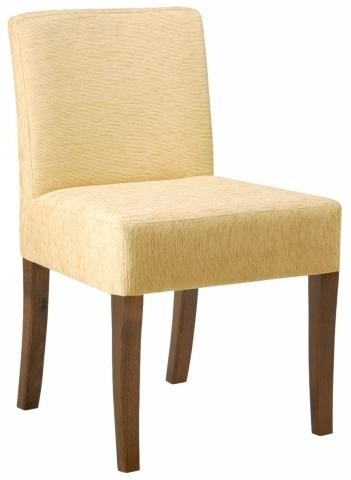 Jane side chair RFU seat & back raw