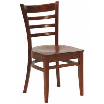 Dallas side chair veneer seat