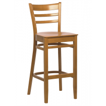 Dallas bar stool veneer seat