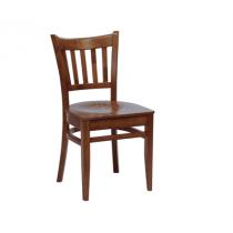 Houston side chair veneer seat