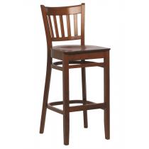 Houston bar stool veneer seat