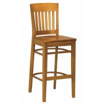 Boston bar stool solid seat