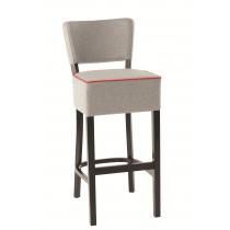 Oregon deep seat bar stool RFU seat & back raw
