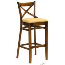 Geneva bar stool veneer seat raw