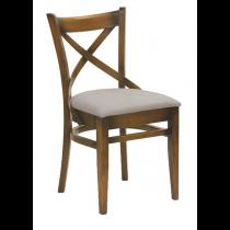 Geneva side chair veneer seat raw