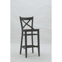 Zurich bar stool veneer seat raw