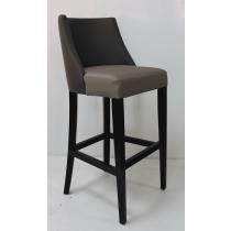 Horatio bar stool RFU seat & back raw