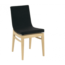 Arc side chair RFU shell beech frame raw
