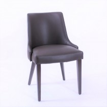 Anton side chair RFU seat & back raw